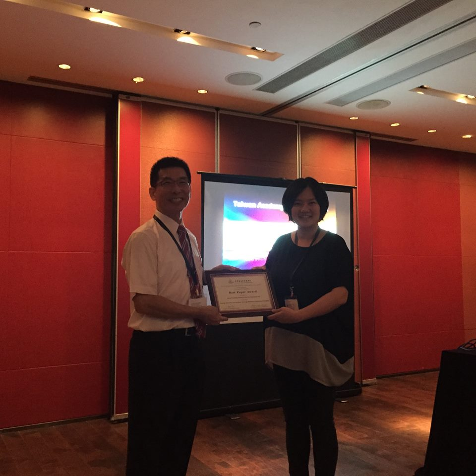 The 8th Taiwan Academy of Management (TAOM) Best Paper Award
